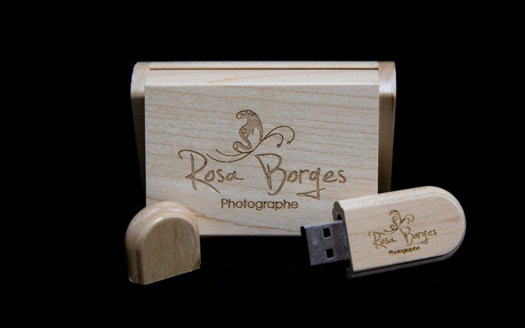 Clef USB Rosa Borges Photographe