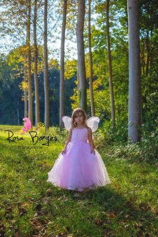 photo enfant, petite fille, séance féérie