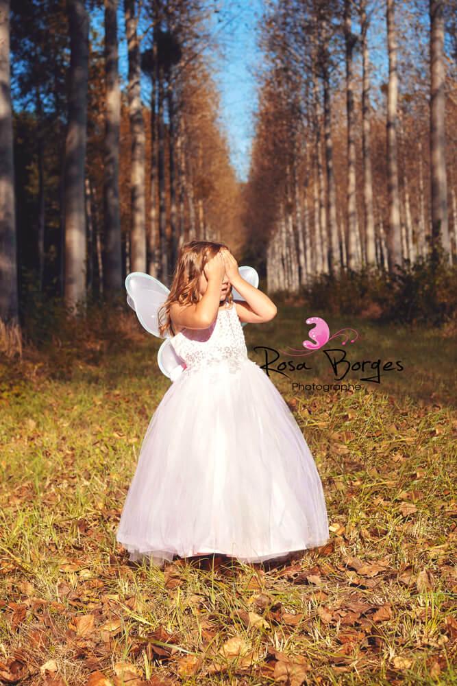 Séance photo : Féérie avec la petite Lilie