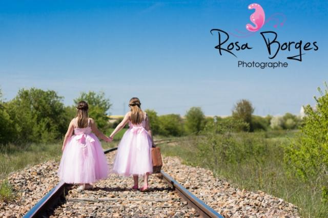 Photographie enfant : deux soeurs à l'avanture
