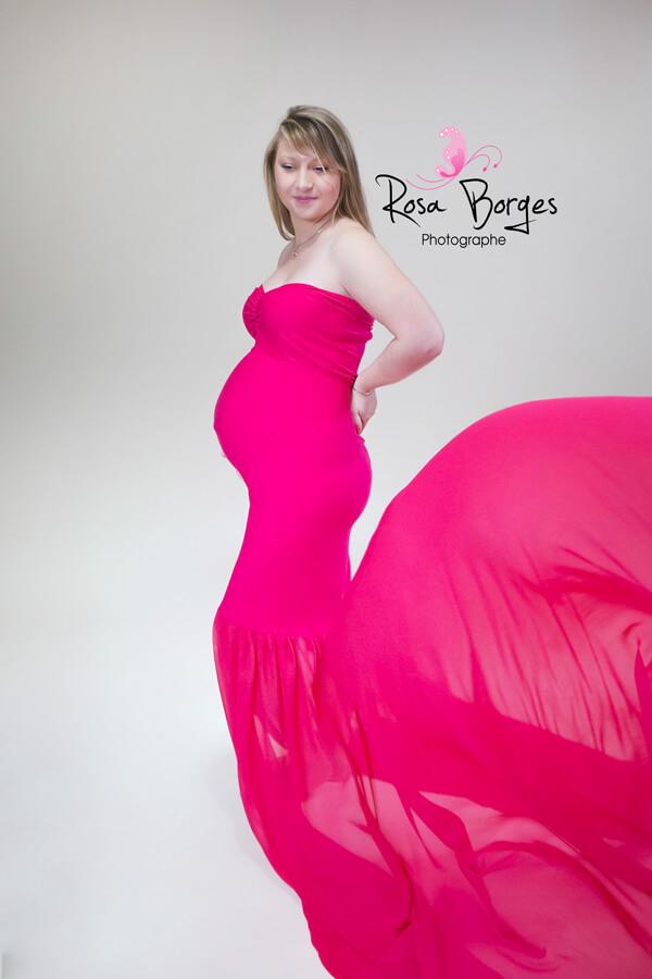 Séance photo grossesse à Troyes en studio